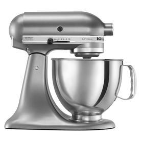 KitchenAid Artisan Series 5-Quart 10-Speed Contour Silver Stand Mixer