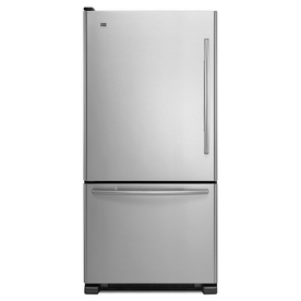 Maytag 21.9 cu ft Bottom Freezer Refrigerator (Stainless Steel) ENERGY STAR