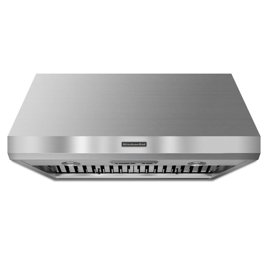 Shop Kitchenaid Ducted Wall Mounted Range Hood Stainless