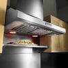 KitchenAid Ducted Wall-Mounted Range Hood (Stainless) (Common: 36-in; Actual 36-in)