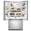 KitchenAid Pro Line 21.8-cu ft Counter-Depth French Door Refrigerator with Single Ice Maker (Stainless Steel) ENERGY STAR