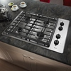 Whirlpool 30-in 4-Burner Gas Cooktop (Stainless Steel)