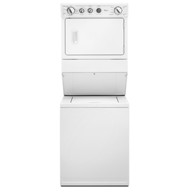 Whirlpool Electric Stacked Laundry Center with 2.5-cu ft Washer and 5.9-cu ft Dryer (White)