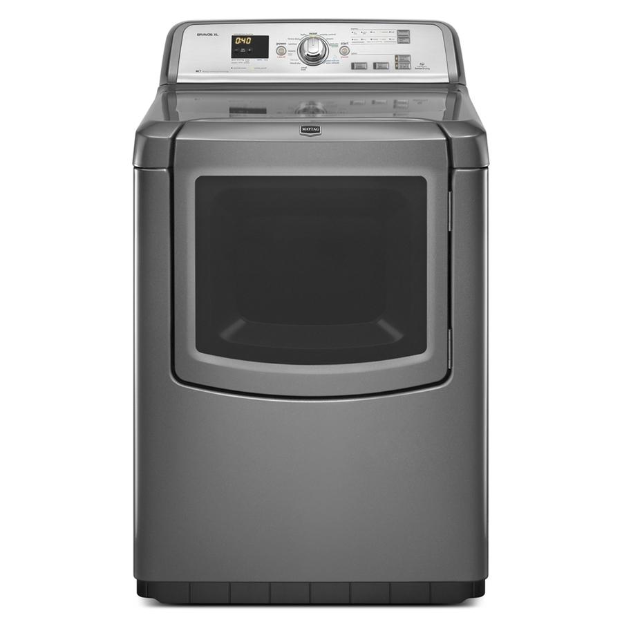 Shop Maytag Bravos Xl 7 3 Cu Ft Electric Dryer Granite