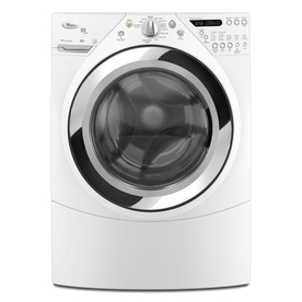 Whirlpool Duet 3.9-cu ft High-Efficiency Stackable Front-Load Washer with Steam Cycle (White) ENERGY STAR