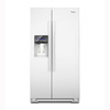 Whirlpool 26.4 cu ft Side-by-Side Refrigerator (White) ENERGY STAR