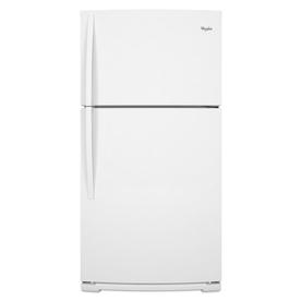 Whirlpool 21.1-cu ft Top-Freezer Refrigerator (White) ENERGY STAR