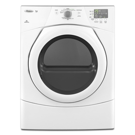 Whirlpool Duet 6.7-cu ft Stackable Gas Dryer (White)