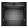 Maytag 27-in Self-Cleaning Single Electric Wall Oven (Black)