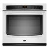 Maytag 27-in Self-Cleaning Single Electric Wall Oven (White)