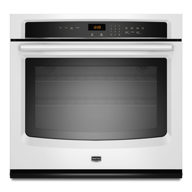 Maytag 30-in Self-Cleaning Single Electric Wall Oven (White)