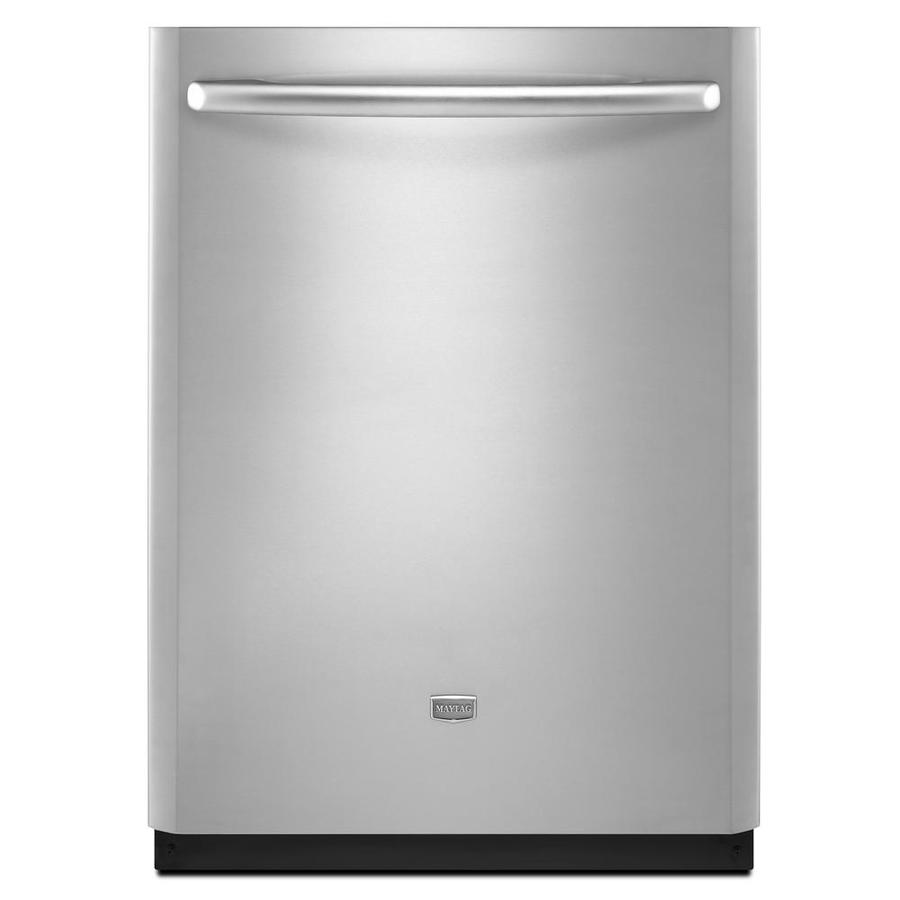 Stainless steel dishwasher lowes maytag stainless steel - Maytag whirlpool ...