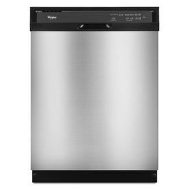 Whirlpool 24-in Built-In Dishwasher with Plastic Tub (Stainless Steel) ENERGY STAR