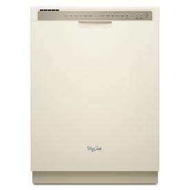 Whirlpool 55-Decibel Built-in Dishwasher (Biscuit) (Common: 24-in; Actual 23.875-in) ENERGY STAR