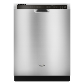 Whirlpool 55-Decibel Built-In Dishwasher (Stainless Steel) (Common: 24-in; Actual 23.875-in) ENERGY STAR