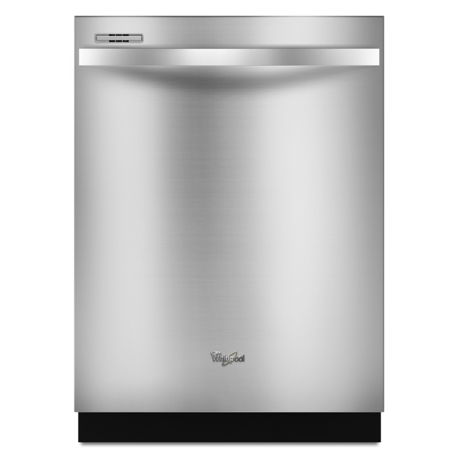 Shop Whirlpool Gold 55-Decibel Built-In Dishwasher (Stainless Steel) (Common: 24-in; Actual 23