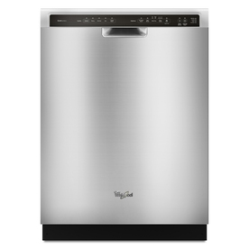 Whirlpool Gold 51-Decibel Built-In Dishwasher (Stainless Steel) (Common: 24-in; Actual 23.875-in) ENERGY STAR