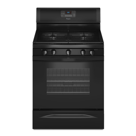 Whirlpool 30-in 5-Burner Freestanding 5 cu ft Gas Range (Black)