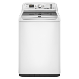 Maytag Bravos 4.6-cu ft High-Efficiency Top-Load Washer (White) ENERGY STAR