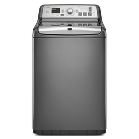 Maytag Bravos 4.6 cu ft High-Efficiency Top-Load Washer (Granite) ENERGY STAR