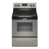 Whirlpool 30-in Freestanding Smooth Surface 4.8 cu ft Self-Cleaning Electric Range (Universal Silver)