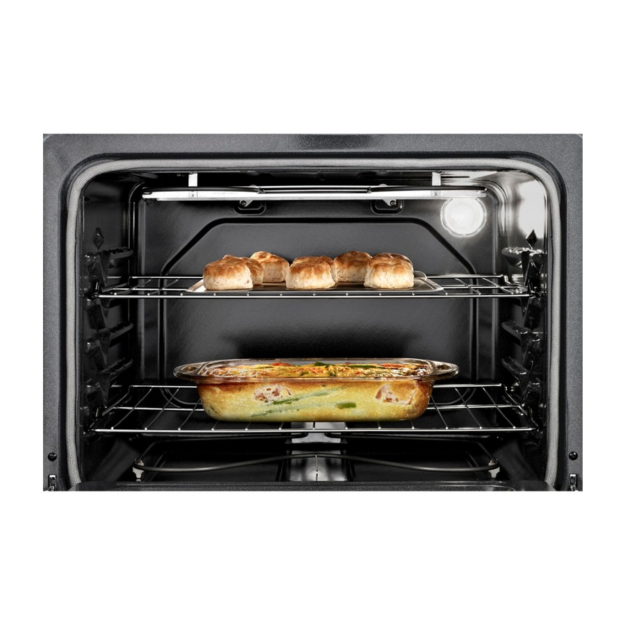 Whirlpool Smooth Surface 4 Elements 4.8-cu ft Self-Cleaning Electric Range  (White) (Common: 30-in; Actual: 29.875-in) in the Single Oven Electric  Ranges department at Lowes.comLowe's