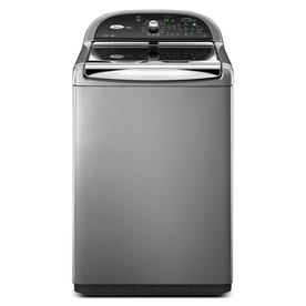Whirlpool Cabrio Platinum 4.6 cu ft High-Efficiency Top-Load Washer (Chrome) ENERGY STAR