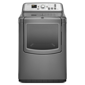 Maytag 7.3-cu ft Electric Dryer with Steam Cycles (Granite)