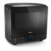 Whirlpool 0.5-cu ft 750-Watt Countertop Microwave (Black)