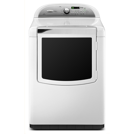 Whirlpool Cabrio Platinum 7.6 cu ft Gas Dryer (White)