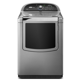 Whirlpool Cabrio Platinum 7.6-cu ft Gas Dryer with Steam Cycles (Chrome)