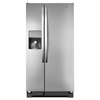 Whirlpool 21.2-cu ft Side-by-Side Refrigerator with Single Ice Maker (Universal Silver)
