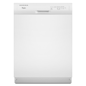 Whirlpool 55-Decibel Built-In Dishwasher (White) (Common: 24-in; Actual 23.875-in) ENERGY STAR