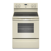 Whirlpool 30-in Freestanding Smooth Surface 4.8 cu ft Self-Cleaning Electric Range (Biscuit)