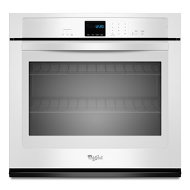 Whirlpool Single Electric Wall Oven (White) (Common: 27-in; Actual 27-in)
