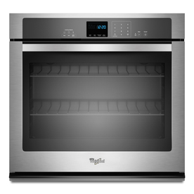 Whirlpool Single Electric Wall Oven (Stainless Steel) (Common: 27-in; Actual 27-in)