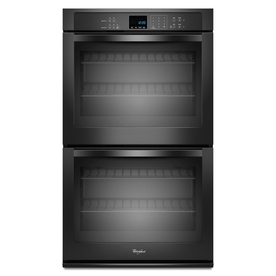 Whirlpool Self-Cleaning Double Electric Wall Oven (Black) (Common: 30-in; Actual: 30-in)