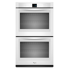 Whirlpool Self-Cleaning Double Electric Wall Oven (White) (Common: 30-in; Actual: 30-in)