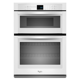Whirlpool 30-in Self-Cleaning Microwave Wall Oven Combo (White)