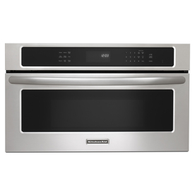 KitchenAid Architect 1.4 cu ft Built-In Convection Microwave (Stainless Steel)