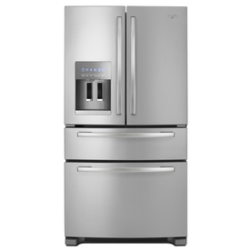 Whirlpool 25 cu ft 4-Door French Door Refrigerator (Stainless Steel) ENERGY STAR