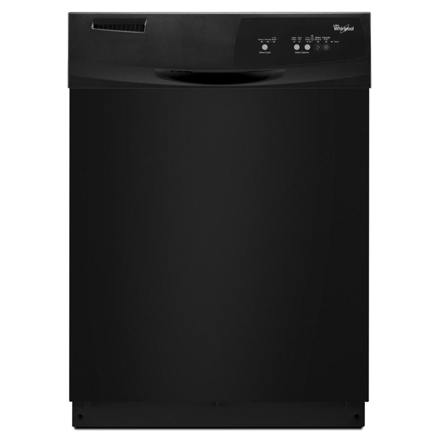 Shop Whirlpool 59-Decibel Built-in Dishwasher (Black