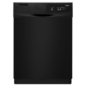 Whirlpool 24-in Built-In Dishwasher (Black) ENERGY STAR