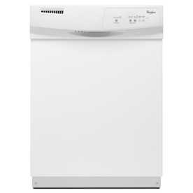 Whirlpool 59-Decibel Built-In Dishwasher (White) (Common: 24-in; Actual 23.875-in) ENERGY STAR