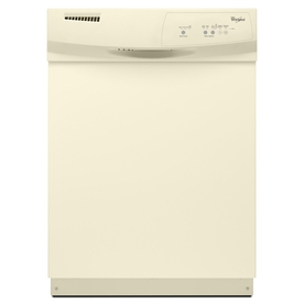 Whirlpool 24-in Built-In Dishwasher (Biscuit) ENERGY STAR