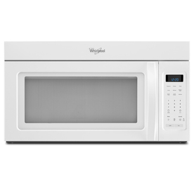 Whirlpool 1.7-cu ft Over-The-Range Microwave (White) (Common: 30-in; Actual: 29.93-in)