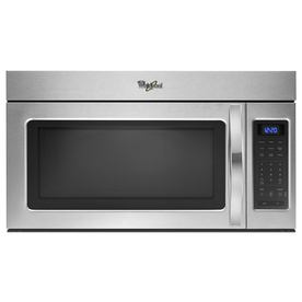 Whirlpool 1.7-cu ft Over-The-Range Microwave (Stainless Steel) (Common: 30-in; Actual: 29.938-in)