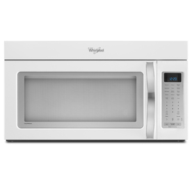 Whirlpool White Ice 2 cu ft Over-the-Range Microwave