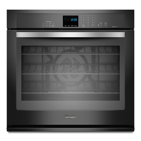 Whirlpool Gold Black Ice Self-Cleaning with Steam Convection Single Electric Wall Oven (Black Ice) (Common: 30-in; Actual 30-in)