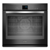 Whirlpool Gold 30-in Self-Cleaning Convection Single Electric Wall Oven (Black Ice)